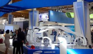Samsung SDI scoate in evidenta bateria de mici dimensiuni la Salonul Auto de la Frankfurt in 2015