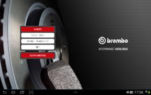 Aplicatia BREMBO, un ajutor pentru gasirea piesei potrivite
