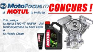 MotoFocus.ro și MOTUL te invită la CONCURS