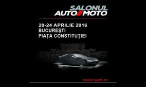 SALONUL AUTO MOTO, Piața Constituției, 20-24 aprilie