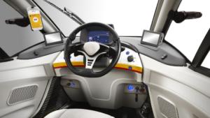 O mașina proiectată special pentru drumurile din orașele aglomerate.