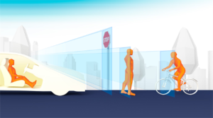 DENSO îmbunătățește senzorii din interiorul vehiculului pentru a spori siguranța pietonilor