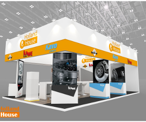 KAWE, Kavo Parts  și NRF cu Holland House la Automechanika Dubai 2017