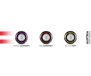 Pirelli anunță compozițiile nominalizate și seturile obligatorii pentru marele premiu al Austriei 2017