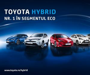 Segmentul eco s-a triplat în România: Toyota Hybrid, motorul creşterii vehiculelor verzi
