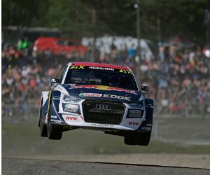 Acord de sponsorizare între KYB și o echipă participantă la Campionatul Mondial de Rallycross al FIA