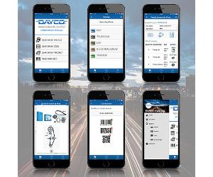 Dayco îmbunătățește serviciile oferite clienților și accesul la informații tehnice prin actualizarea aplicației pentru dispozitivele mobile