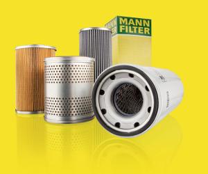Noile filtre MANN-FILTER pentru sisteme hidraulice mobile. Peste 8.600 de noi aplicații