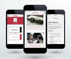 O nouă aplicație mobilă gratuită disponibilă de la KYB