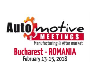 Automotive Manufacturing Meetings Romania se va desfăşura în perioada 13 şi 15 februarie la ROMEXPO, Bucureşti