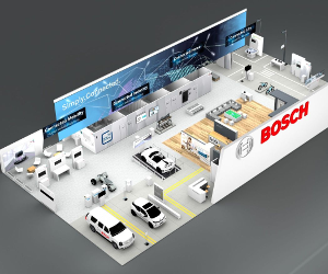 CES 2018: Bosch prezintă aceste soluții  inteligente la Las Vegas