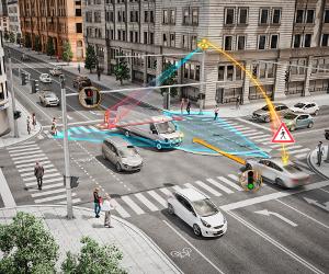 Drumuri noi: Tehnologii pentru vehicule, precum şi crearea de reţele, în special pentru o mai bună fluidificare a traficului în oraşele inteligente