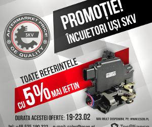 Promoție - încuietori de uși SKV