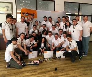 Vehiculele autonome create de studenți s-au întrecut la Continental Technical Competition