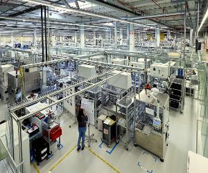 Bosch pune piatra de temelie pentru o nouă clădire de birouri la Blaj