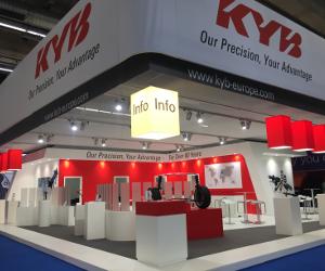 KYB călătorește carbon neutral la Automechanika Frankfurt