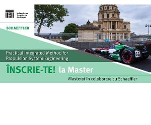 Lansare program masterat în colaborare cu Schaeffler