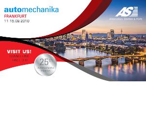 AS-PL va fi prezent la Automechanika Frankfurt 2018