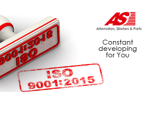 AS-PL  are o noua certificare ISO 9001: 2015