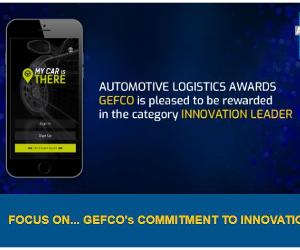 Premii în logistică Automobilistică. GEFCO are onoarea de a fi premiat în categoria LIDER ÎN INOVAȚIE