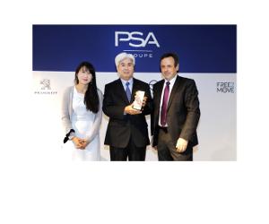 KYB recompensat cu premiul de excelență PSA pentru furnizori