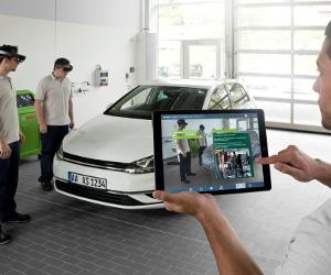 Bosch oferă instruire în mecatronică automotive utilizând tehnologia inovatoare a Realității Augmentate
