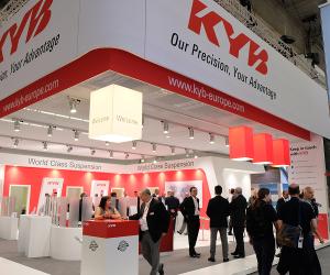 KYB și-a îndreptat atenția către viitor la Automechanika Frankfurt