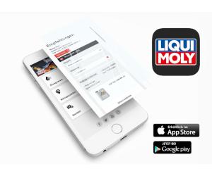 Noua aplicație LIQUI MOLY! Calea rapidă de a găsi un ulei potrivit.