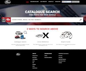 Catalogul online extins de piese  Gates pe Gatesautocat.com