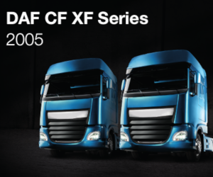 Modelul DAF  CF XF 2005