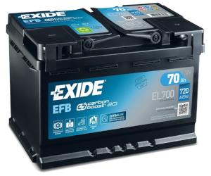 Exide dezvăluie tehnologia de generare a noilor generații de Carbon  Boost 2.0 pentru bateriile EFB și Premium cu un avantaj unic