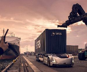 Prima misiune pentru Vera: Volvo Trucks prezintă o cursă de transport autonom între un centru logistic și port