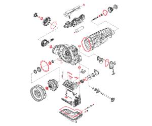 Elring-Seturi de garnituri și garnituri pentru repararea profesională a sistemelor de transmisie automată