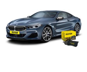 Textar - plăcuțe de frână pentru noul BMW 8