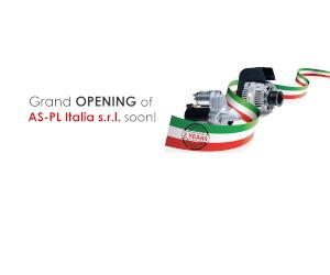 Urmează să aibe loc marea deschidere AS-PL Italia s.r.l.