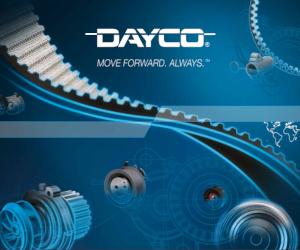 Dayco. Soluții pentru sisteme de transmisie pentru echipamente OE și Aftermarket