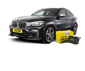 Textar - plăcuțe de frână pentru noul BMW X4