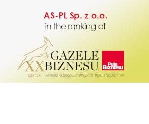 AS-PL din nou în clasamentul  Gazele Biznesu