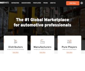 MARKETPARTS.COM - piața B2B #1 Globală pentru producătorii și distribuitorii de automobile este acum oficial online