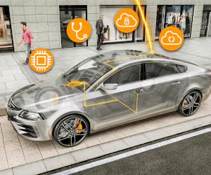 Serverul pentru autovehicule de la Continental conectează mașinile electrice Volkswagen ID.