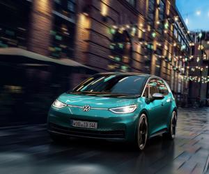 Volkswagen ID.3 comunică cu ajutorul luminilor