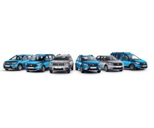 Dacia a vândut în 2019 peste 55.000 de vehicule în România