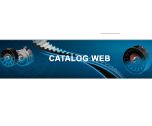 Catalogul Web Dayco