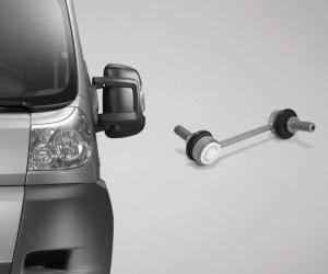ZF Aftermarket furnizează piese pentru șasiu pentru numeroase modele de autovehicule comerciale ușoare (LCV)