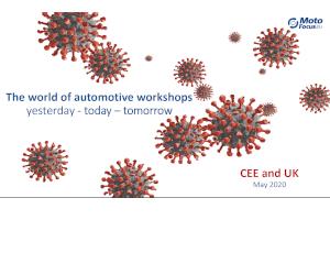 Raport cu situația actuală a service-urilor auto din Europa - Descărcare gratuită!