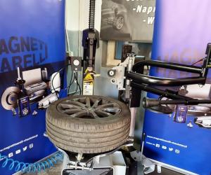 Testarea aparatului de echilibrat și a mașinii de dejantat anvelope Magneti Marelli – rezumat