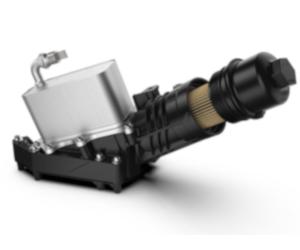 Modulul de ulei UFI Filters pentru BMW.  A doua generație cu 6 cilindri