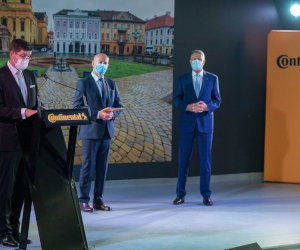 Continental România a primit Ordinul Meritul Industrial și Comercial în grad de Ofițer cu ocazia marcării a 20 de ani de activitate în România