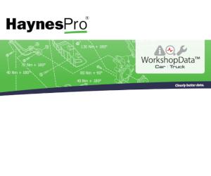 Broșura HaynesPro WorkshopData™ Truck!