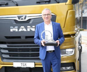 """Simply the best"": MAN TGX, Camionul anului 2021!"